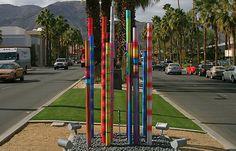 Median Art, El Paseo Drive, Palm Desert, CA