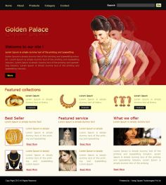 Website Template 44 Website Designing, Website Development, Custom ...