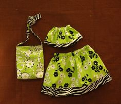 Super Cute doll clothes and purse ~ perfect for beginner sewers!!