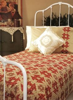Quilt Inspiration - Make some extra blocks to make a matching pillowcase