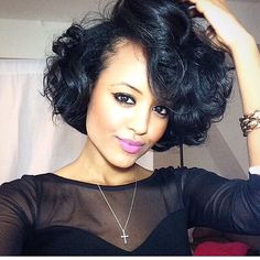MyHairCrush.com | LWe LOVE the short hair @yodithaile! #myhaircrush