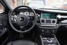 2015 Rolls-Royce Ghost interior