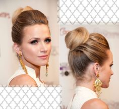 : shantel vansanten; Love her hairstyle!