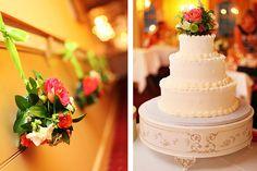 Simple & Elegant Wedding Cake | White Vanila Wedding Cake | Wedding Photography by Anna Rozenblat | www.AnnasWeddings.com |  Brooklyn , New York, Long Island, New Jersey Weddings Photographer