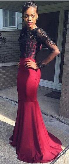 Lace Prom Dresses Evening Dresses