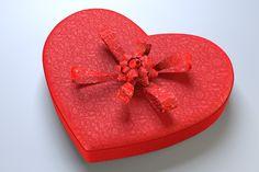 3D Model Heart Box with Chocolates | Food 3D Models | wojtek g - 3D Squirrel