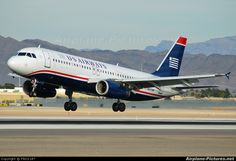 N657AW US Airways Airbus A320