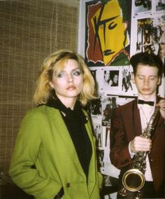 Debbie Harry and James Chance