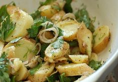 Mediterranean Diet Potato Salad Recipe