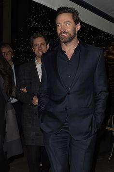 Hugh Jackman à l'after-party de la première du film Eddie The Eagleà Londres le 17 mars 2016