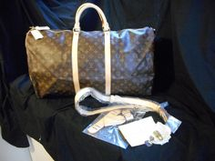 Louis Vuitton Keepall Bandouliere 60 Duffle by ClassicStyles7