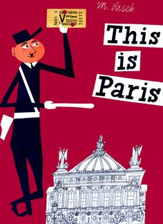 "Of this beloved (and instantly recognizable) children's book by Czech artist Miroslav Sasek, Gannett says, ""It introduces younger readers to the magic and history of the City of Light, without boarding a flight."""