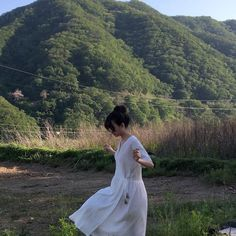 garden mountains landscape scenery forest picnic table style green light pastel korean japanese ethereal minimalistic aesthetic clothing cows sheeps goats travel people trees nature natural secret garden pretty r o s i e