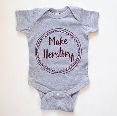 c44b923e3 37 Feminist Onesies For Baby Girls And Boys
