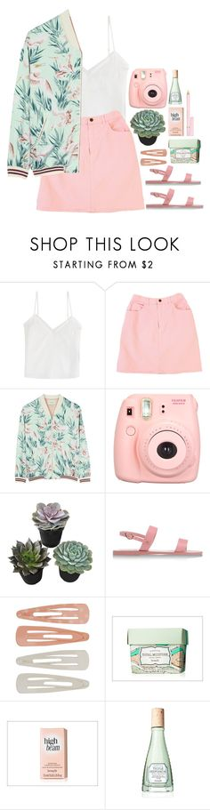 """?"" by tilly-bailey ❤ liked on Polyvore featuring The Kooples, GUESS, Maison Scotch, Polaroid, Ancient Greek Sandals, Forever 21, Benefit and AERIN"