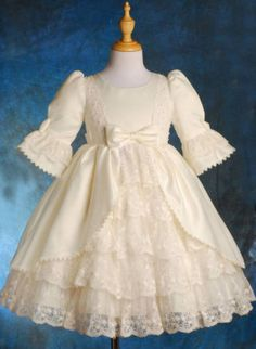 Flower-Girl-Bridesmaid-Party-Communion-Dress-Size-1-9y