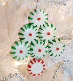 christmas tree ornament DIY candy