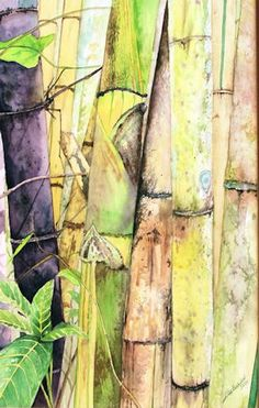 bamboo painting