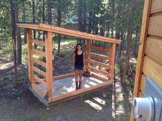 Wood Storage Firewood Shed Size