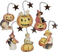 Primitives By Kathy Halloween Kids Ornaments