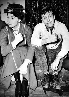 """Behind the scenes of """"Mary Poppins"""" Retronaut 