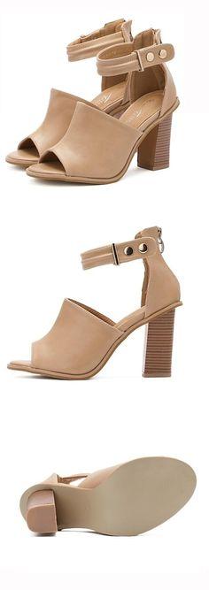 Shoespie OL Chunky Heel Sandals
