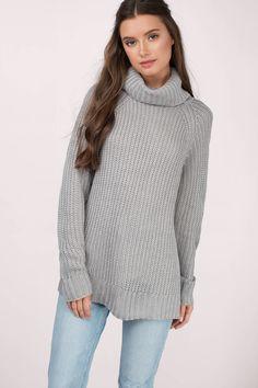 Over Summer Turtleneck Sweater at Tobi.com #shoptobi