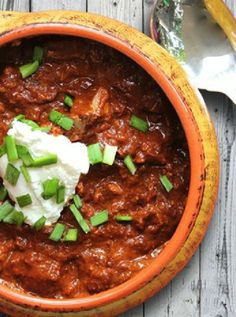Low FODMAP and Gluten Free Recipe - Slow cooker chili
