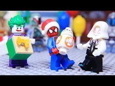 LEGO Spider Man becomes Greatest Superhero All Video, Spiderman, Lego, Candles, Superhero, Birthday, Crossbody Bag, Youtube, Spider Man