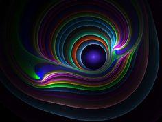 Image result for neon fractal