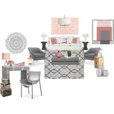Girly Room, created by cindy32tn on Polyvore