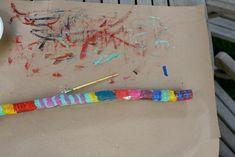 Talking stick art project