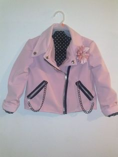 Teen Beach Movie Lela Pink Biker Jacket for by HandmadebyCatira, $79.99