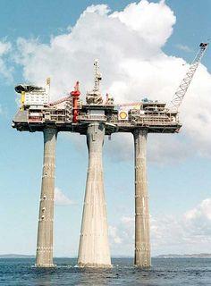 La plataforma Troll de gas natural en Stavanger (Noruega).
