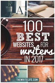 Wow! So honored to be listed alongside all these rockstar websites! >> 100 Best Writing Websites: 2017 Edition