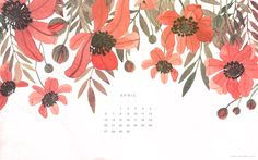 All sizes | Desktop April Calendar | Flickr - Photo Sharing!