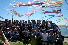 Survivor Ceremony at San Diego Dragon Boat Festival 2013