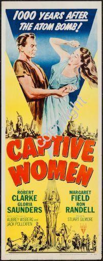 Captive Women Movie Poster Insert 14x36