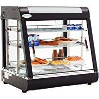27 Commercial Countertop Hot Food Warmer Display Case For Restaurant Heated Cabinet Pizza Empanda Pas Frame Display Food Warmers