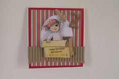 Pirate Birthday Card by Quintessentialcraftz on Etsy, €2.50