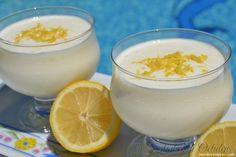 Receta de Crema Helada de Limón y Yoghourt