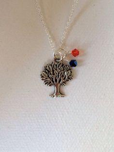 Toomer's Corner/Auburn University necklace by lesliebox on Etsy, $24.00