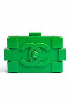 Chanel Green Boy Brick Bag: Spring 2013