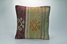 Cushion Cover - Crimson Green