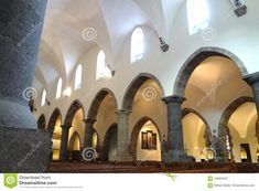 Arched Side Of The Chapel At The Abbey Of St. Maurice Stock Image - Image of monastery, valais: 105844257 Switzerland, Arch, Construction, Mansions, House Styles, Image, Beautiful, Home Decor, Building