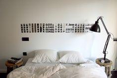 Black and White simple design idea.