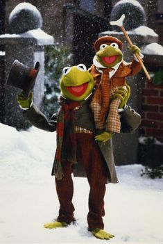 THE MUPPET CHRISTMAS CAROL We watch this one every Christmas Season!
