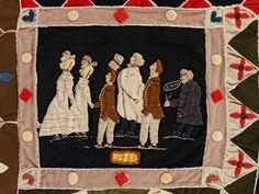 jbe200quilts:    Ann West (detail), 1820, © V Images