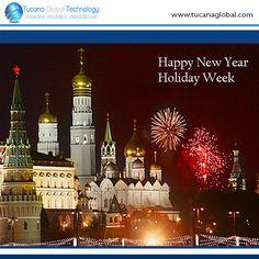 Happy #NewYearHolidayWeek in #RussianFederation