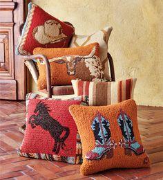 Farmhouse Wool Pillows on shopstyle.com